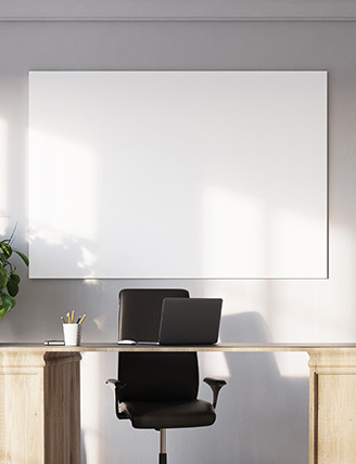 Profile Porcelain Whiteboard