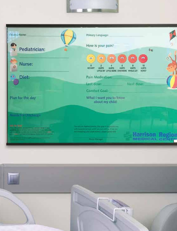 XCHANGE Patient Boards